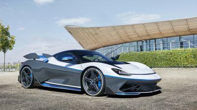 Pininfarina Battista Anniversario, Electric cars, Hypercars, 5K