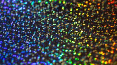 Rainbow Glitter, Multicolor, Shiny, Texture, Selective Focus, Blurred, 5K