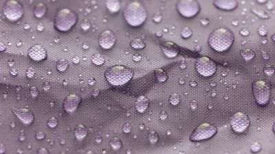 Water droplets, Macro, Closeup, Fabric, Wet, Texture, Pink, Girly backgrounds, 5K