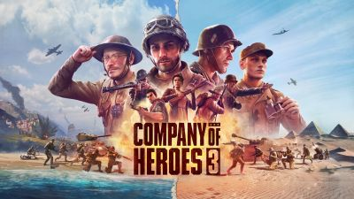 Company of Heroes 3, PC Games, 2022 Games, Strategy games