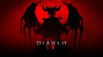 Diablo IV, Lilith, Diablo 4, 2022 Games, Red background, Dark