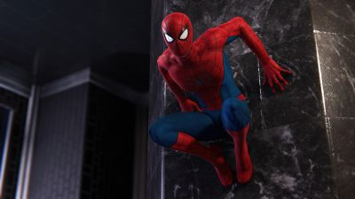 Marvel's Spider-Man Remastered, Spider-Man, 2021 Games, PlayStation 5, 5K