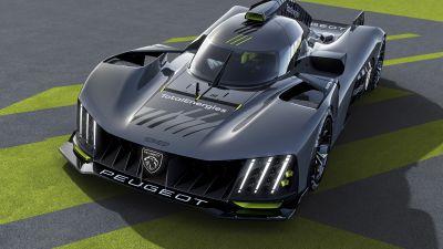 Peugeot 9X8, Hypercars, 2022, 5K
