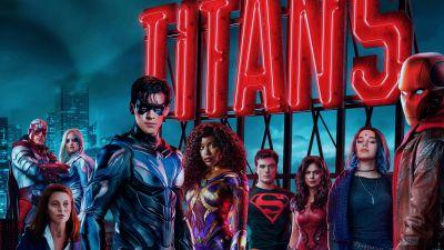 Titans, Season 3, TV series, Minka Kelly, Savannah Welch, Alan Ritchson, Anna Diop, Conor Leslie, Ryan Potter, Brenton Thwaites, Joshua Orpin, Curran Walters, Teagan Croft, 2021