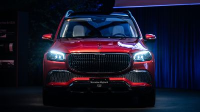 Mercedes-Maybach GLS 600 4MATIC, Luxury SUV, 2021, 5K