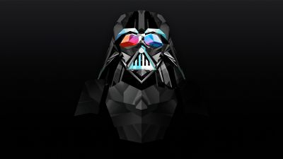 Sith, Dark Lord, Star Wars, Dark background, Black background, Minimal art