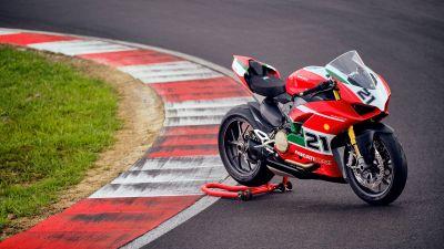 Ducati Panigale V2 Bayliss, Sports bikes, Race track, 2021, 5K