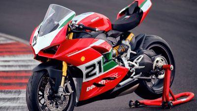 Ducati Panigale V2 Bayliss, Sports bikes, Race track, 5K, 2021