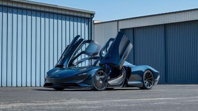 McLaren Speedtail, Hybrid sports car, 2021