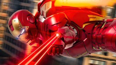 Iron Man, Action, Marvel Superheroes