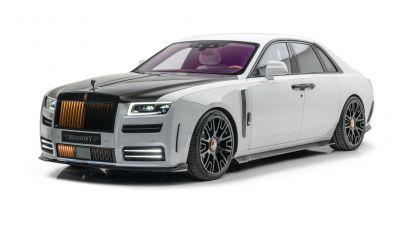 Mansory Rolls-Royce Ghost 2021, White background, 2021, 5K, 8K