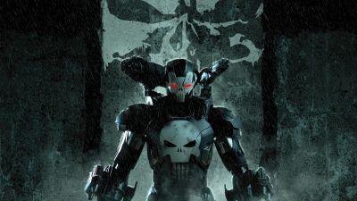 War Machine, Marvel Superheroes, Punisher