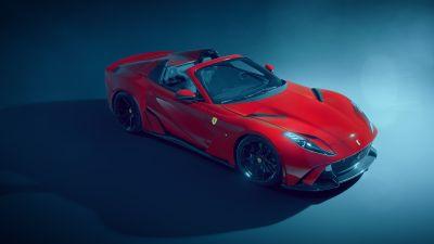 Novitec Ferrari 812 GTS N-Largo, Super Sports Cars, Performance Kit, 2021, 5K