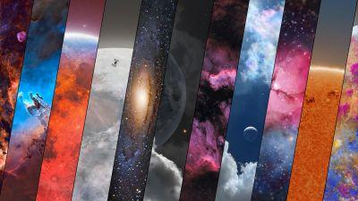 Astrophotography, Crescent Nebula, Lunar Eclipse, Andromeda, Mars, Galaxy, Nebula, Moon, Solar eclipse