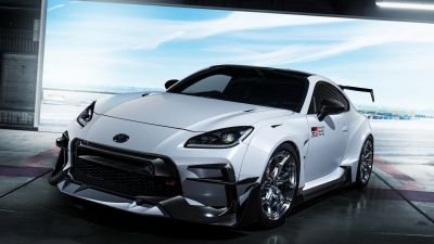 Toyota GR 86 GR Parts, Concept cars, 2021, White cars