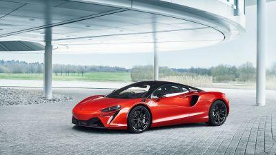 McLaren Artura, Hybrid sports car, 2022, 5K