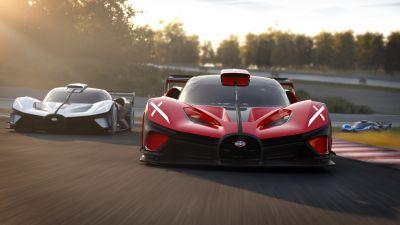 Bugatti Bolide, Hyper Sports Cars, 2021