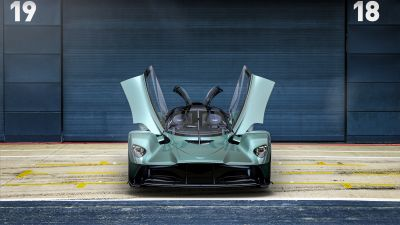 Aston Martin Valkyrie Spider, Hypercars, 2021