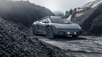 Lamborghini Gallardo Offroad, 5K