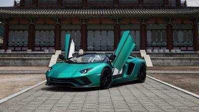 Lamborghini Aventador S Roadster, Korean Special Series, 2021, 5K