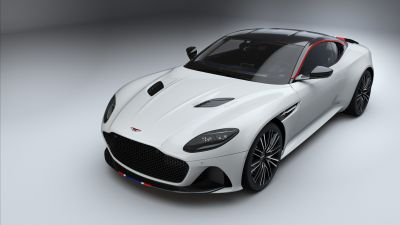 Aston Martin DBS Superleggera, White, 5K