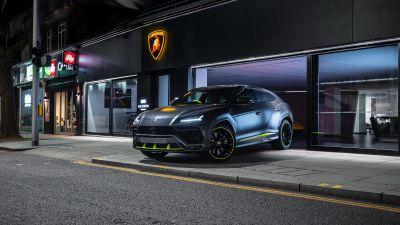 Lamborghini Urus Graphite Capsule, 2021, 5K, 8K