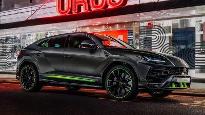 Lamborghini Urus Graphite Capsule, 2021