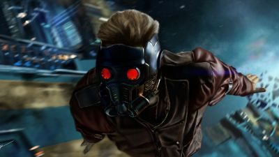 Star-Lord, Guardians of the Galaxy Vol 2, Marvel Superheroes, Marvel Cinematic Universe, Peter Quill, Mask, 5K, 8K