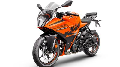 KTM RC 390, Sports bikes, 2022, White background