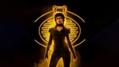 Snake Eyes: G.I. Joe Origins, 2021 Movies, Baroness, Úrsula Corberó, 5K, 8K, Black background