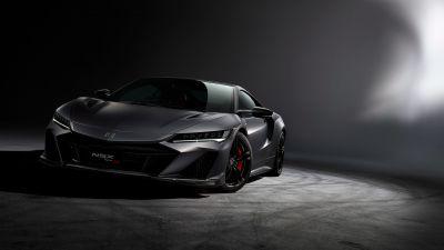 Honda NSX Type S, Hybrid Supercar, Sports cars, Dark Edition, 2022