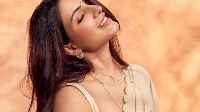 Samantha, Indian actress, South Actress, Saree, Beautiful actress, Photoshoot
