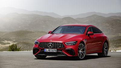 Mercedes-AMG GT 63 S E Performance 4-Door Coupe, 2021, 5K