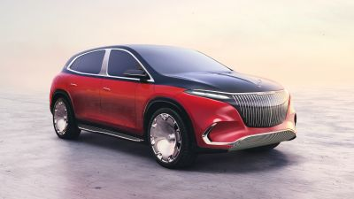 Concept Mercedes-Maybach EQS, Electric cars, Concept cars, 2021