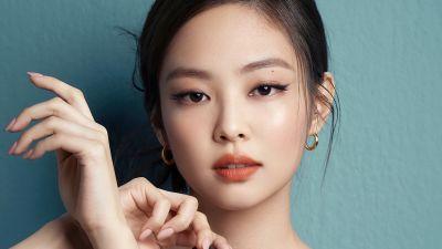 Jennie, Blackpink, Portrait, K-Pop singer, Korean singers, 2021