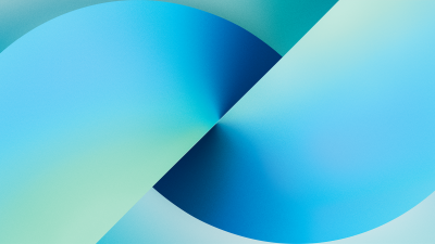 iPhone 13, Stock, iOS 15, Gradient background, iPhone 13 Pro Max, iPhone 13, Blue background