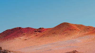 Mi Pad 5 Pro, Clear sky, Desert, Sunny day, Noon, Stock