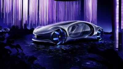 Mercedes-Benz VISION AVTR, Concept cars, 2020, 5K, 8K