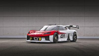 Porsche Mission R, Electric Sports cars, 2021, 5K, 8K