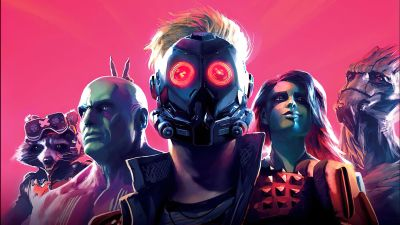 Marvel's Guardians of the Galaxy, Peter Quill, Star-Lord, Groot, Rocket Raccoon, Gamora, Drax the Destroyer, 2021 Games, PC Games, PlayStation 4, PlayStation 5, Xbox One, Nintendo Switch, Xbox Series X and Series S