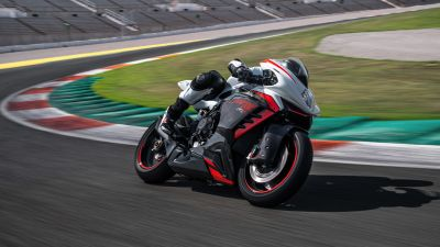 MV Agusta F3 RR, Sports bikes, Racing bikes, Race track, Racer, 2022, 5K, 8K