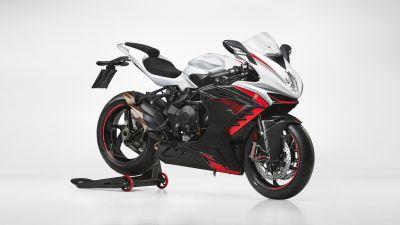 MV Agusta F3 RR, Sports bikes, White background, 2022, 5K, 8K