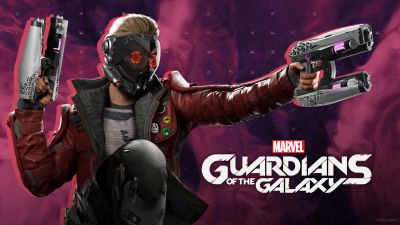 Marvel's Guardians of the Galaxy, Peter Quill, Star-Lord, 2021 Games, PC Games, PlayStation 4, PlayStation 5, Xbox One, Nintendo Switch, Xbox Series X and Series S