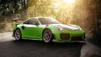 Porsche 911 GT2 RS, Sports cars, 5K, 8K