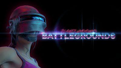 PUBG, PlayerUnknown's Battlegrounds, Female player, PUBG helmet