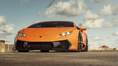 Lamborghini Huracan, 5K, 8K