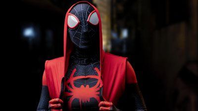 Spider-Man, Miles Morales, Cosplay, Costume, Marvel Superheroes, 5K