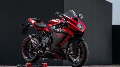 MV Agusta F3 RR, Sports bikes, Dark background, 2022, 5K