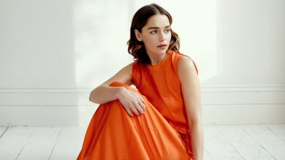 Emilia Clarke, Beautiful actress, Photoshoot