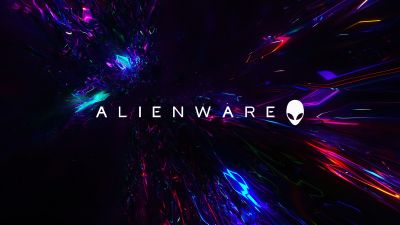 Alienware, Stock, Abstract background